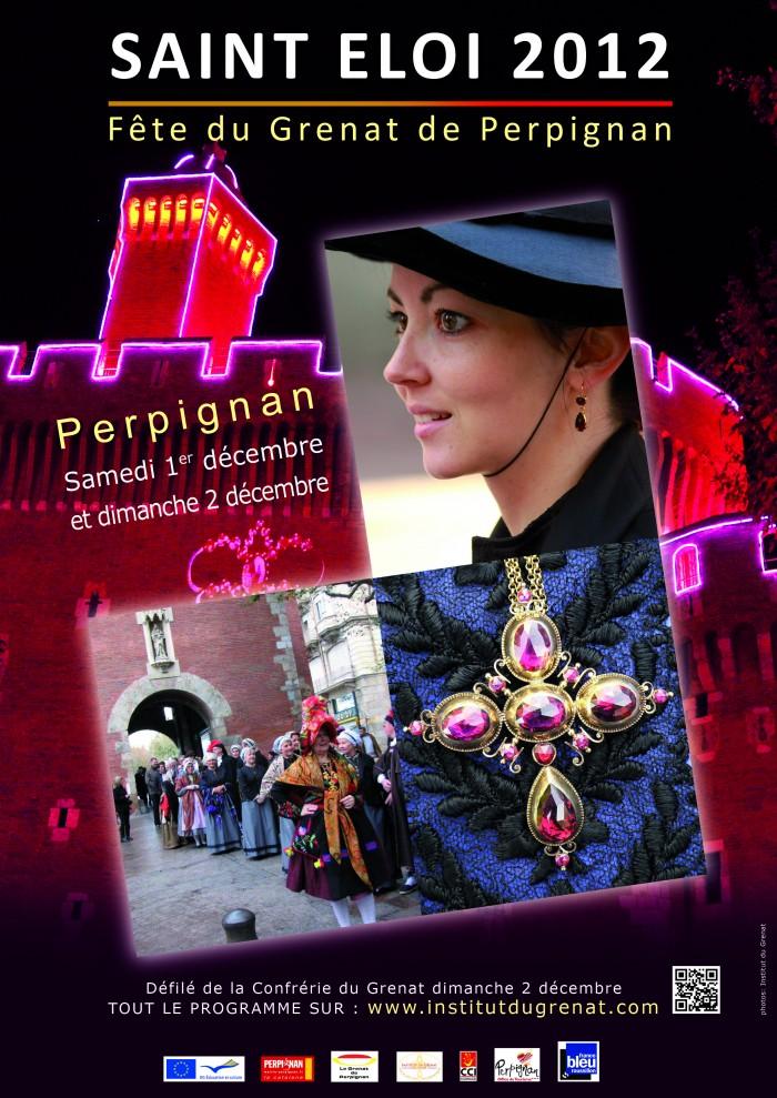 Saint Eloi 2012, fête traditionnelle du Grenat de Perpignan