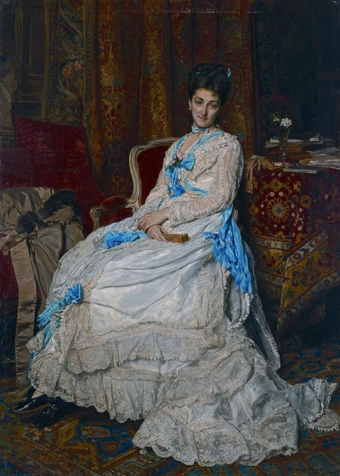 Portrait par Meissonier