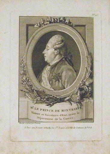 Portrait du Prince de Montbarey
