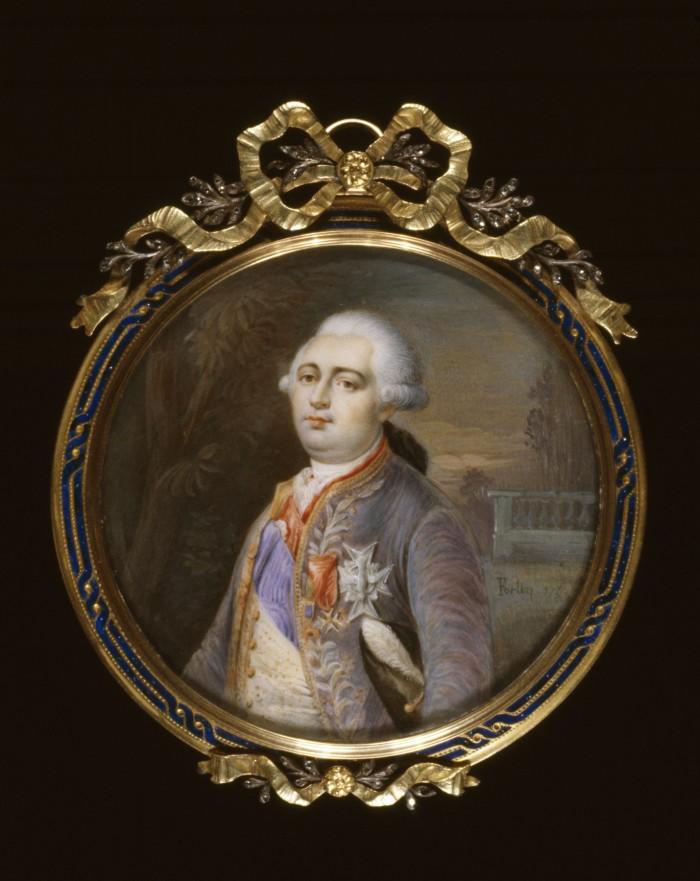 Portrait du roi Louis XVI