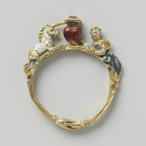 or, diamants, émail c. 1550-1600  Rijk muséum, Amsterdan.