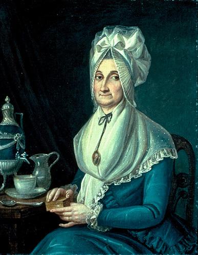 portrait de Mme Trottier dite Desrivières