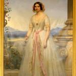 Joseph Désiré Court (1797-1865), portrait de femme, 1847.