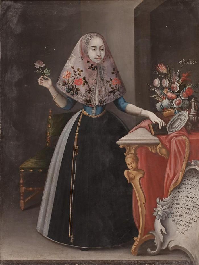 Majorquine du XVIIIe s.