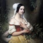 Joseph Désiré Court (1797-1865), la Glaneuse, 1841.
