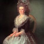 Agustín Esteve, Portrait de la marquise de san Andrés, ca. 1785.