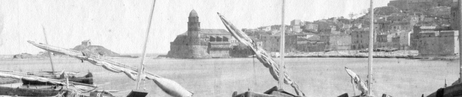 Barques catalanes à Collioure