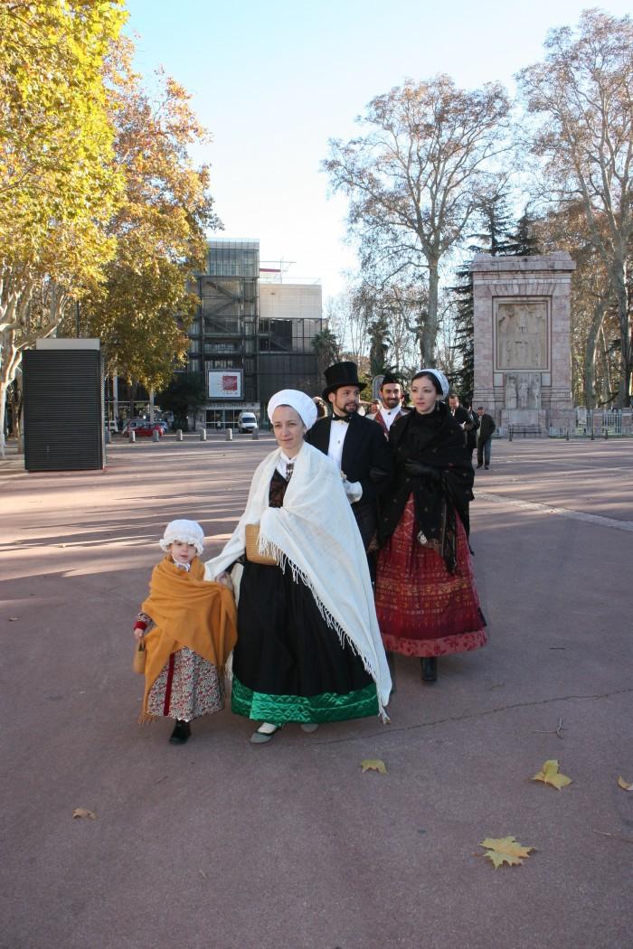 Costumes haut en couleurs, Perpignan, 2 décembre 2012.