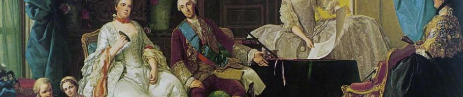 Giuseppe Baldrighi (1723-1803), La famille de Philippe de Parme, vers 1755.