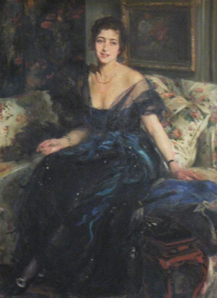 Jacques-Émile Blanche (1861-1942), portrait de marguerite Holtzer, seconde épouse de Jules Pams.