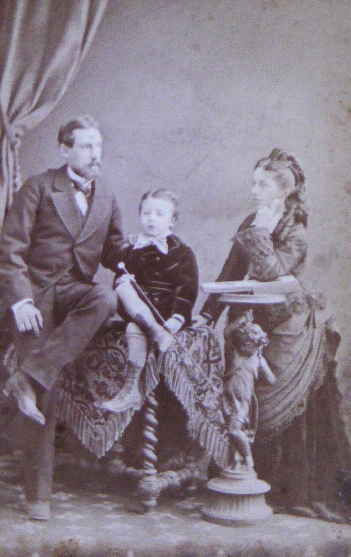 Perpignanais vers 1875, photo Provost.