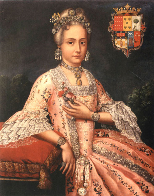 Rosa Maŕia Salazar y Gabiño, Countess of Monteblanco and Montemar