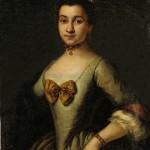 Pietro Longhi, portrait de jeune femme, vers 1740.