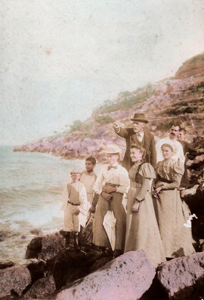 Autochrome, Roussillon, avant 1914.