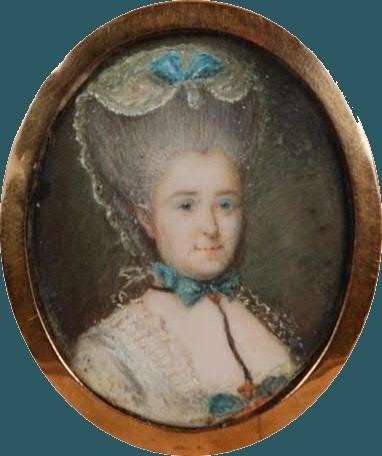 Portrait de la marquise de la Tour du Pin