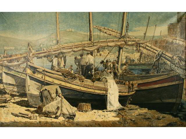 François Omer, Collioure.