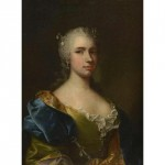 Portrait de femme, début XVIIIe s.