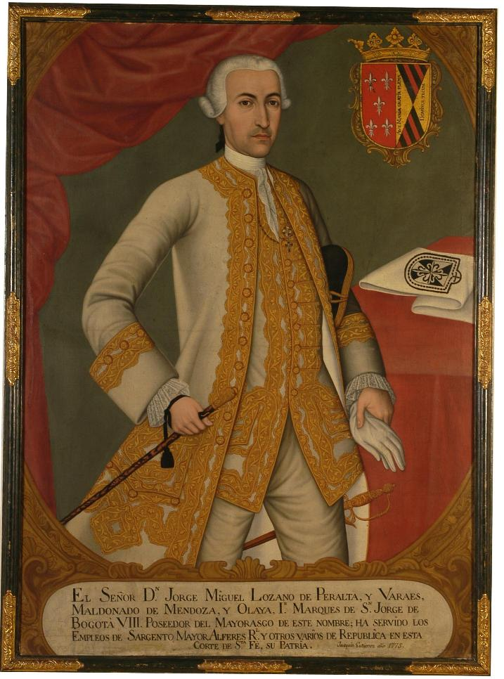 Portrait du marquis de San Jorge.