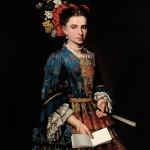Pitocchetto, portrait de femme.