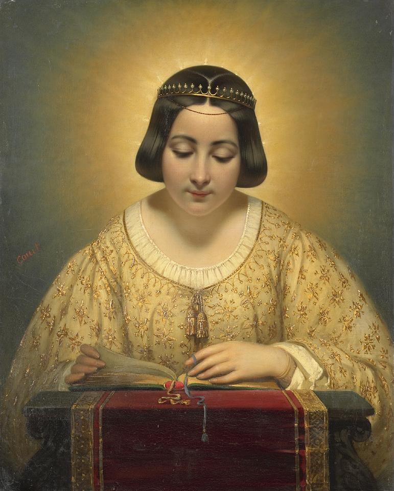 Joseph Désiré Court (1797-1865) - Madame Gravin de Pagès, née de Cornellan, en Sainte Catherine.