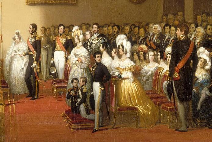 Mariage de Léopold Ier, Roi des Belges, et de Marie-Louise d'Orléans, le 9 aout 1832