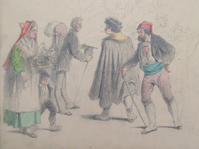 Charles Tronsens, Costumes bigourdans