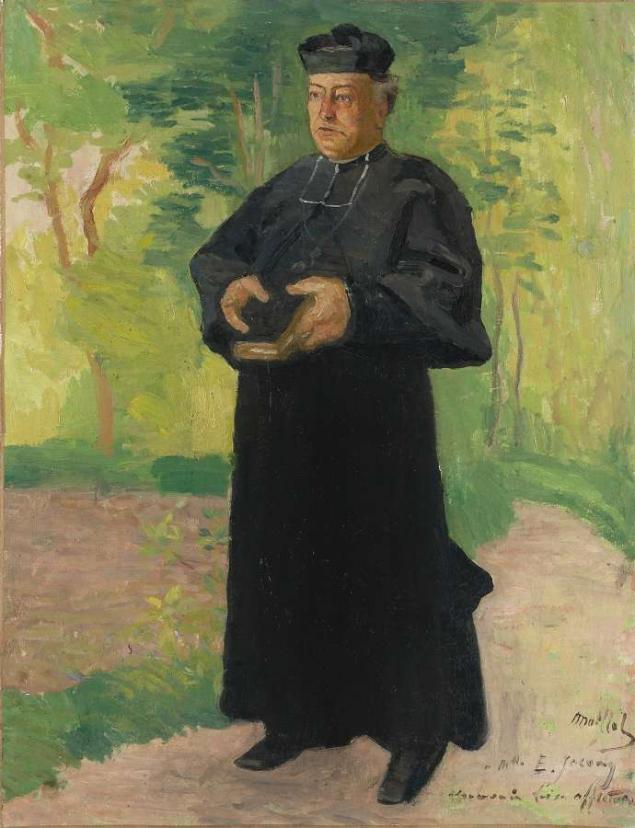 Aristide MAILLOL (1861-1944), l'abbé Rous.