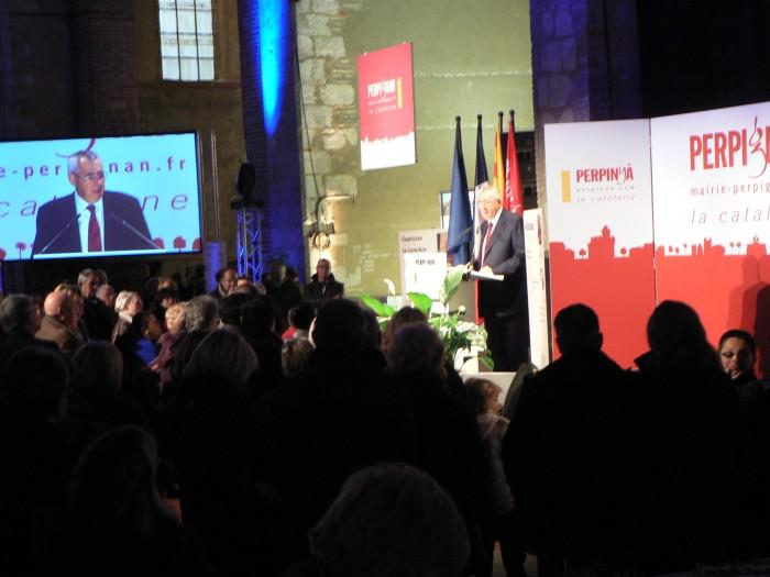 Discours de Jean-Marc Pujol, Maire de Perpignan