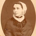 MITJAVILE Marie Almaïde Antoinette, Photo Provost, Perpignan, vers 1880.