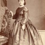 Photo ANNET, rue Napoléon, Tarbes, après 1863.