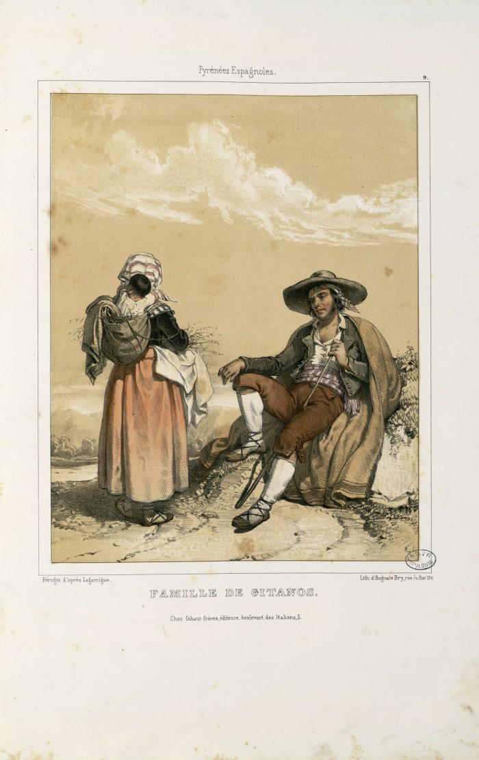 Famille de gitans, A.FEROGIO