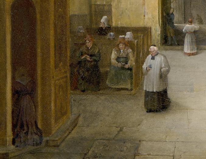 Costume normand, 1828.