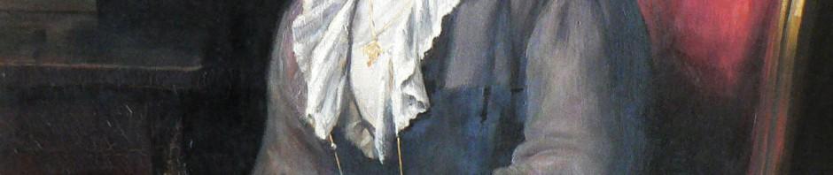 Portrait de madame ARAGON par Louis Delfau, 1897.