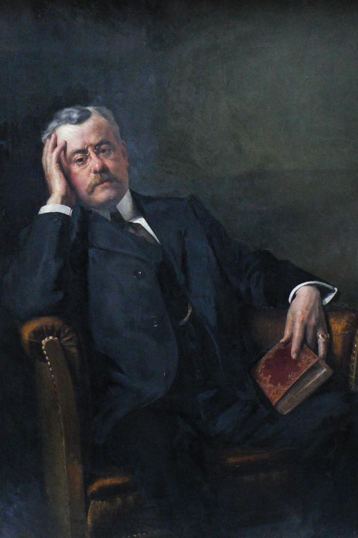 Portrait de Amédée Aragon, Louis Delfau.