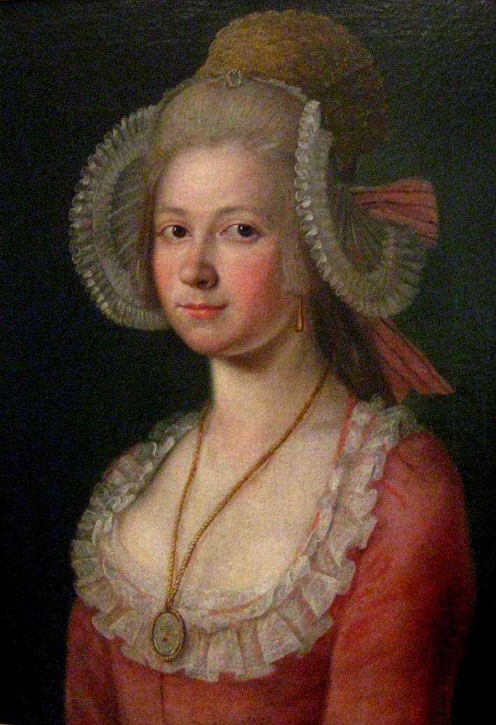 Coiffe traditionnelle Tchèque (1785)