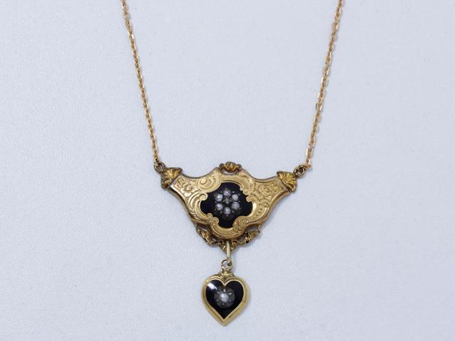 collier régional, milieu du  19e s. France