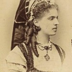 Berthe Mariani Actrice Francaise, Photo Reutlinger.