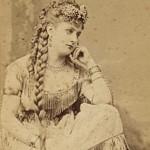 Mlle Latour Actrice française, photo Lejeune.