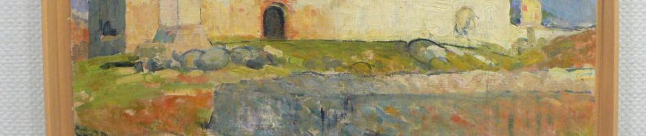 Chapelle de la Plana Sant Marti à Prades, Etienne Terrus, Musée Rigaud, Perpignan.