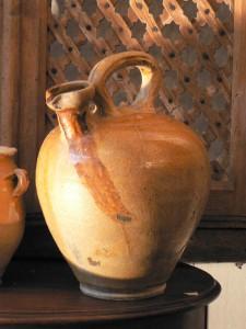 Cruche à huile, région de Perpignan, XIXe s.