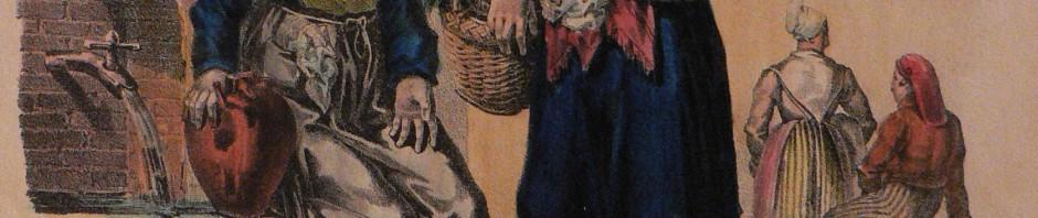 Alphonse Bayot, les cancans, vers 1833.