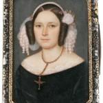 Portrait de femme, France vers 1840
