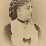 Gabrielle MOISSET chanteuse d'opéra Paris 1868