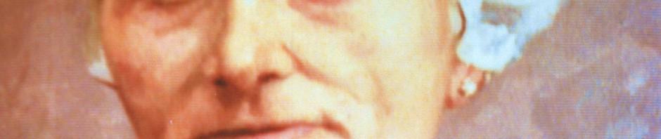 Portrait de femme à la coiffe catalane.