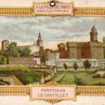 Publicité du magasin de nouveautés Siscal-Siau à Perpignan.