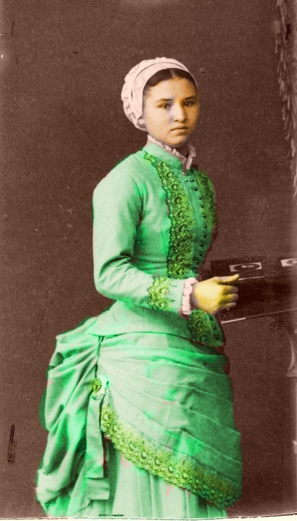 Minyona del Rossello, aprop de 1875.