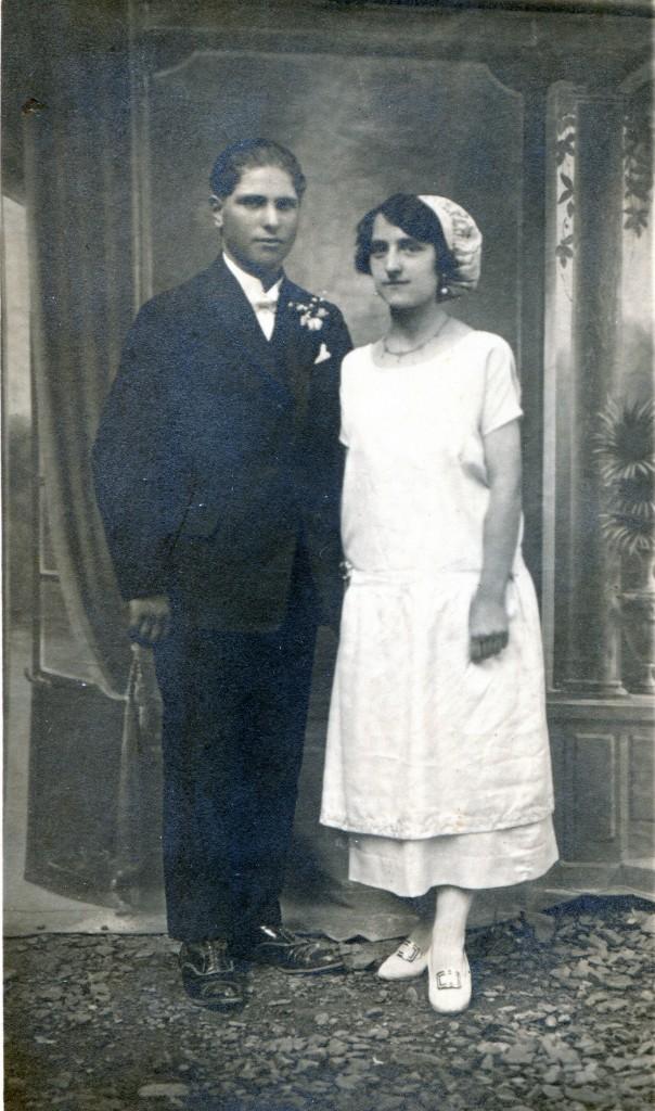 Mariage roussillonnais dans les années 1920