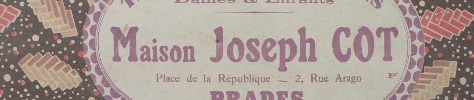 Maison Joseph Cot, tissus et confection à Prades