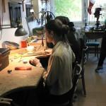 Atelier de l'école de Debrecen.