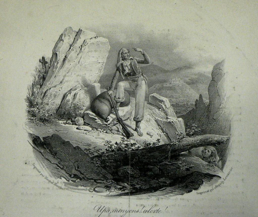 Lithographie de Lemercier, dessin de Antoine Maurin.